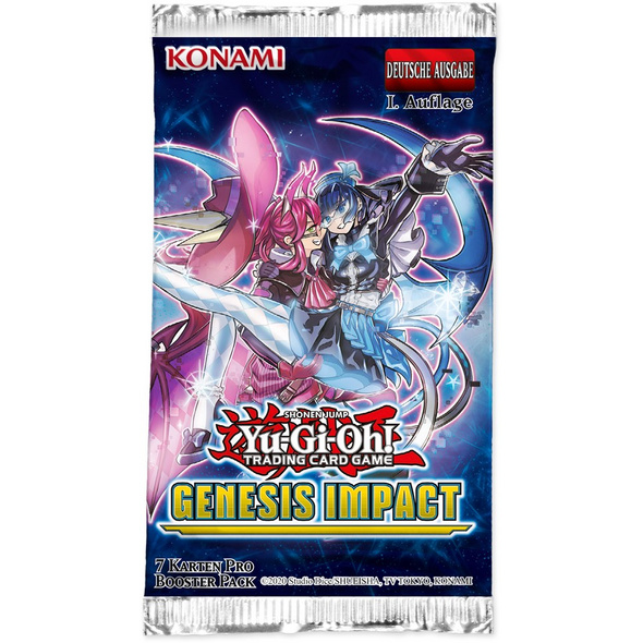 Yu-Gi-Oh! Tradingcard Game - Genesis Impact Booster Pack
