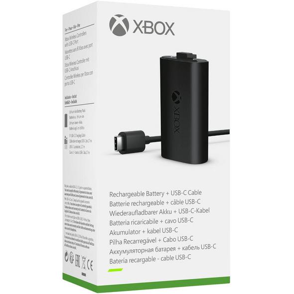 Xbox Play & Charge Kit (kompatibel mit der Xbox Series X/S)