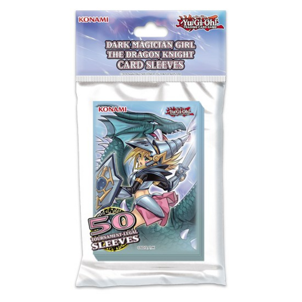 Yu-Gi-Oh! Trading Card Game - Dunkles Magier-Mädchen, die Drachenritterin Sleeves