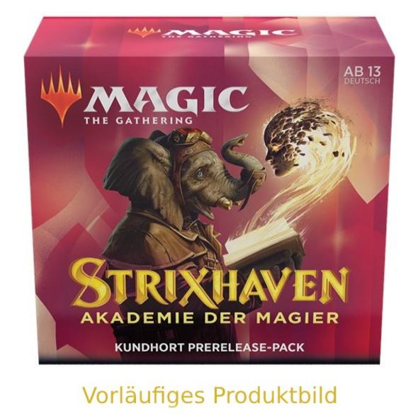 Magic the Gathering: Strixhaven - Akademie der Magier Kundhort Commander Deck