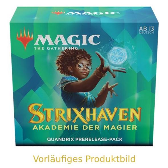 Magic the Gathering: Strixhaven - Akademie der Magier Quandrix Commander Deck