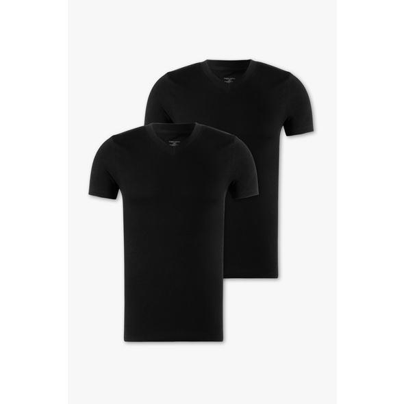 T-Shirt - Bio-Baumwolle - 2er Pack