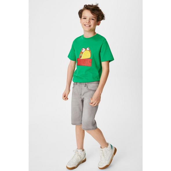 Jeans-Shorts - Jog Denim - Bio-Baumwolle