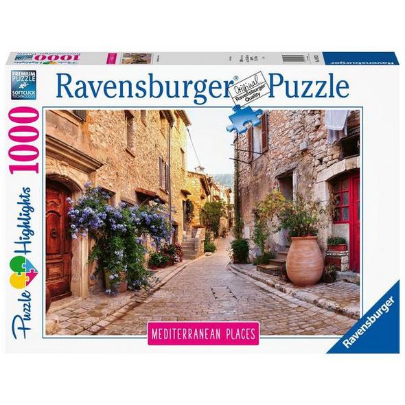 Ravensburger 14975 - Mediterranean Places, France, Puzzle Highlights,