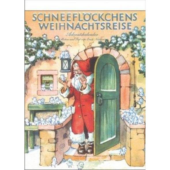 Advents-Abreißkalender 'Schneeflöckchens Weihnachtsreise'