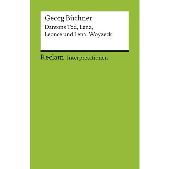 Interpretationen: Georg Büchner