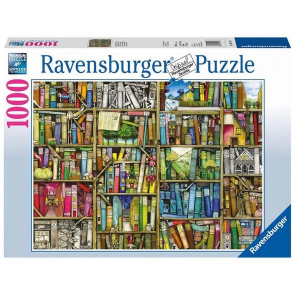 Magisches Bücherregal, Puzzle (Ravensburger 19137)