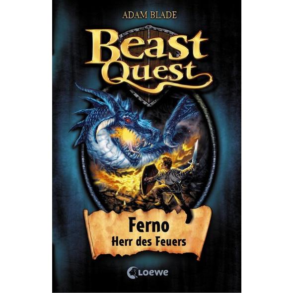 Ferno Herr des Feuers / Beast Quest Bd.1