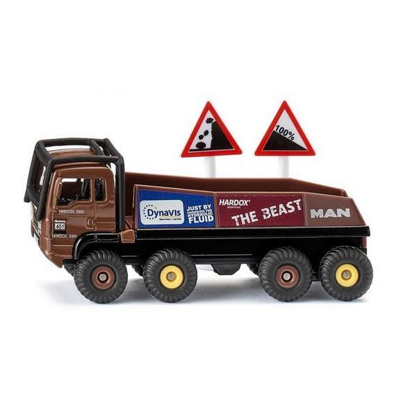 SIKU 1686 - HS Schoch 8x8 Trial Truck, braun, Modellauto, LKW