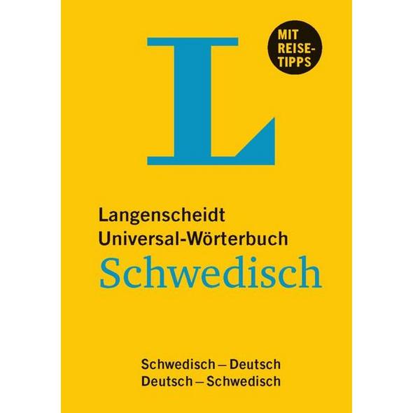 Langenscheidt Universal-Wörterbuch Schwedisch - mit Tipps für die Reise