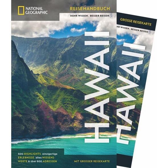 NATIONAL GEOGRAPHIC Reisehandbuch Hawaii mit Maxi-Faltkarte