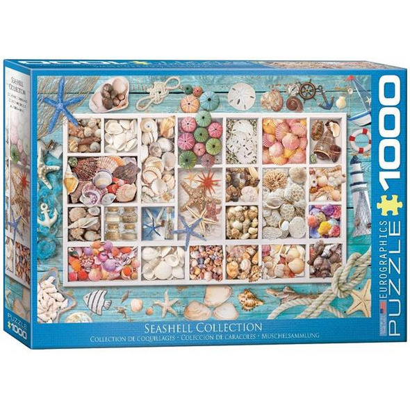 Eurographics 6000-5529 - Seashell Collection, Muschelsammlung, Puzzle,