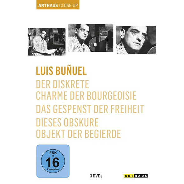 Luis Bunuel - Arthaus Close-Up  [3 DVDs]
