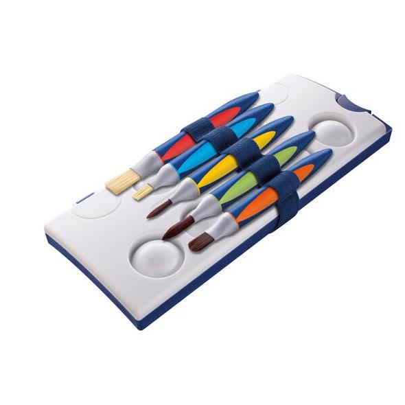 Pelikan Pinsel Set griffix Grundschule, 5er Set