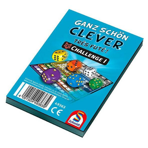 Schmidt 49363 - Ganz schön clever, Challenge I, Block, Würfelspiel