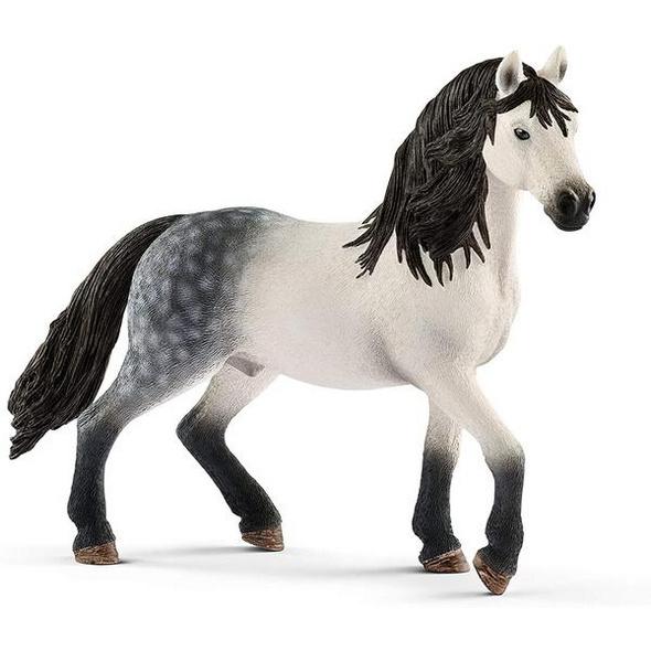 Schleich 13821 - Horse Club, Andalusier Hengst, Tierfigur, Pferd