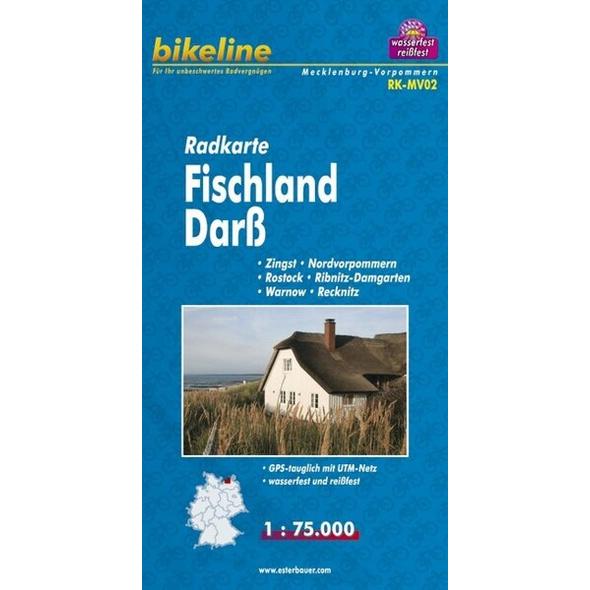 Bikeline Radkarte Deutschland/Fischland Darß Vorpommern