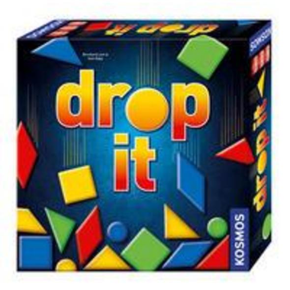 KOSMOS 692834 - Drop It, Familienspiel, Taktikspiel, Geschicklichkeitsspiel