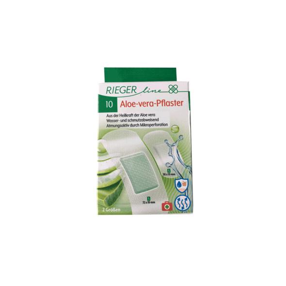10er Aloe-Vera-Pflaster