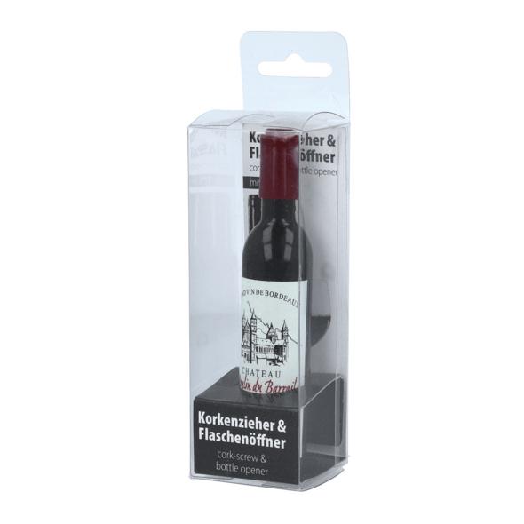 2in1 Flaschenöffner/Korkenzieher