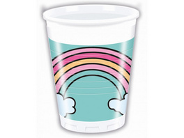 Magic Party 8 Plastic Cups 200ml