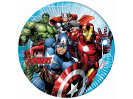 Mighty Avengers 8 Pappteller 23cm