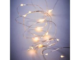 TWINE LIGHTS LED Lichterkette Draht 50L