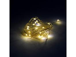 TWINE LIGHTS LED Lichterdraht Gold 20L