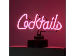 COCKTAILS Neon-Leuchte Cocktails