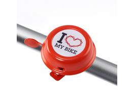 DING DONG Fahrradklingel I love my..60mm