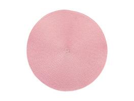 AMBIENTE Tischset rund 38cm rosa