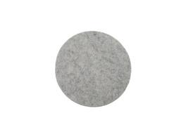 FELTO Untersetzer 10 cm grau
