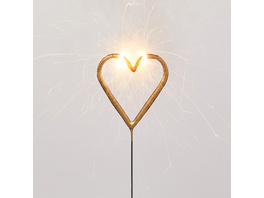 MAGIC MOMENTS Wunderkerze Herz,gold