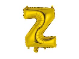 """UPPER CLASS Follienballon gold """"Z"""""""