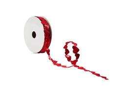 RIBBON Geschenkband Herz 2,5mx15mm rot