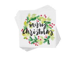 APRÈS Papierserviette Merry Christm.Ilex