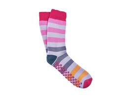 COZY SOCKS Socken Streifen pink 39-42