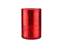 DELIGHT Windlicht 15cm rot