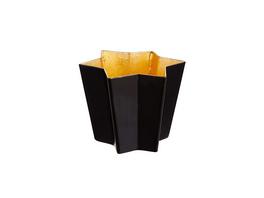 AURORA Teelichthalter Metall Stern 8,5cm