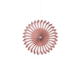 PAPER ART Papierfächer 25cm, rosa