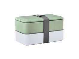 SNACK PACK Lunchbox inkl Besteck salbei