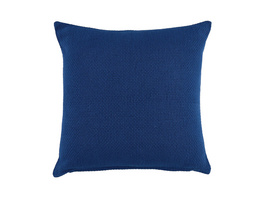 SOLID Kissen, 45x45 cm, dunkelblau