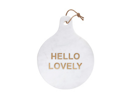 MARBLE Servierplatte Hello Lovely