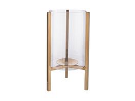GLOW Windlicht Metall/Glas 30cm