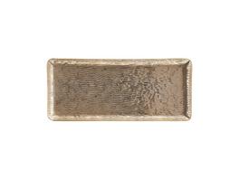 AUREO Deko Tablett 35cm, gold