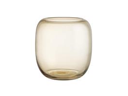 DONNA bauchige Vase 20cm, amber