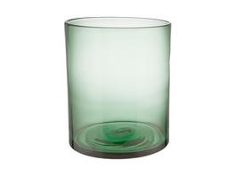NORA Windlicht/Vase 20cm, grün
