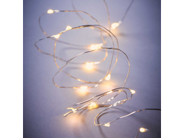 TWINE LIGHTS Lichterkette Draht 50L USB