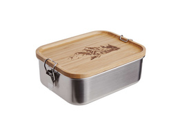 MOUNTAINEER Lunchbox Edelstahl
