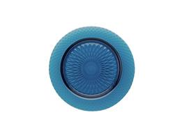 TINTOS Glasteller Ø 21 cm blau